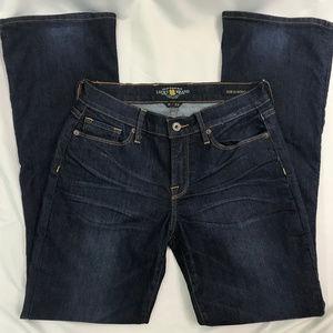 Lucky Brand Dark Wash Sofia Boot Cut Jeans